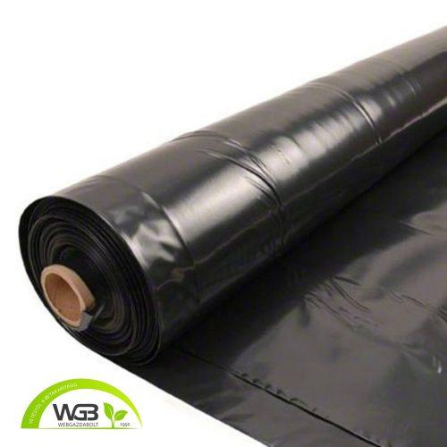 Építőipari fólia fekete 12m x 0,10mm x 60m EFR