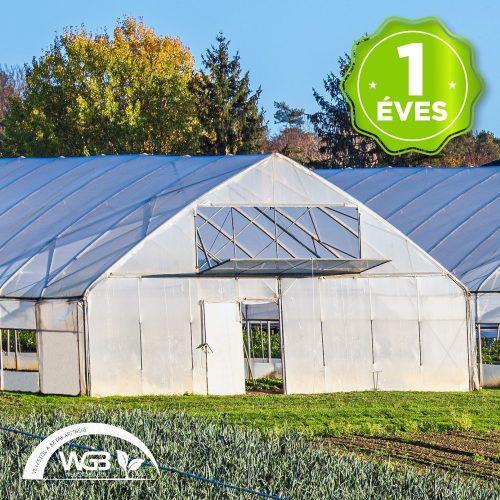 1 éves sátorfólia UV 8,5m x 0,15mm x 60m 8x hajtott S1N