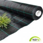 Agroszövet fekete UV 1,25m x 100m 100gr/m2