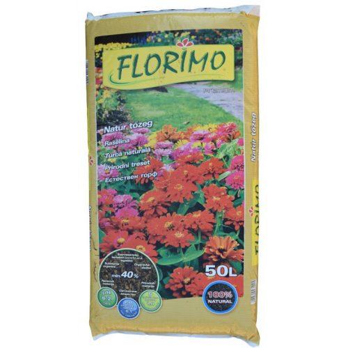 Florimo tőzeg natúr 50 l