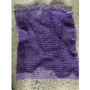 Raschel zsák 33x47 kicsi lila