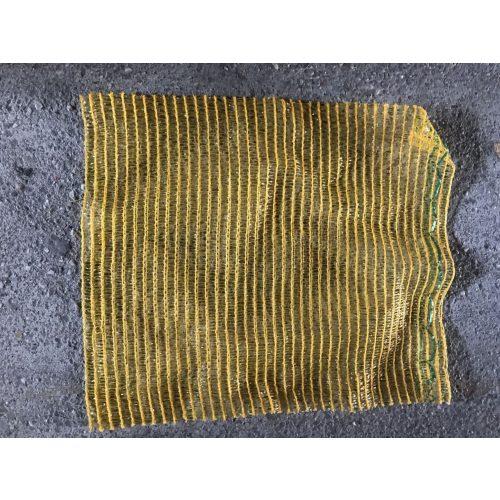 Raschel zsák 33x47 kicsi citromsárga