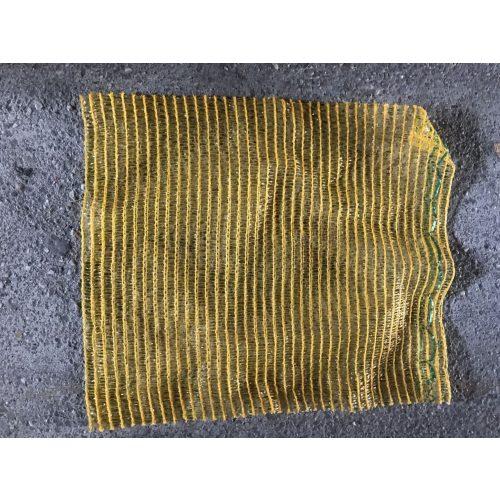 Raschel zsák 40x60 közepes citromsárga