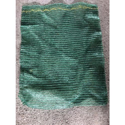 Raschel zsák 40x60 közepes zöld
