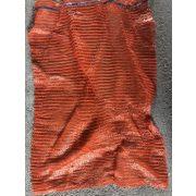 Raschel zsák 50x80 nagy orange
