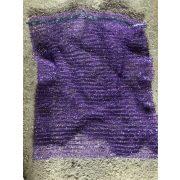 Raschel zsák 50x80 nagy lila