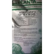Agriplant 3. 14-10-14+Mg+Me 25/1 Vizoldható Mütrágya
