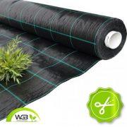 Agroszövet kimért fekete UV 1,05m 100gr/m2