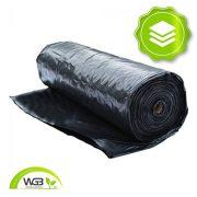 Rétegelválasztó Építési fólia fekete 8,5m x 0,15mm x 60m