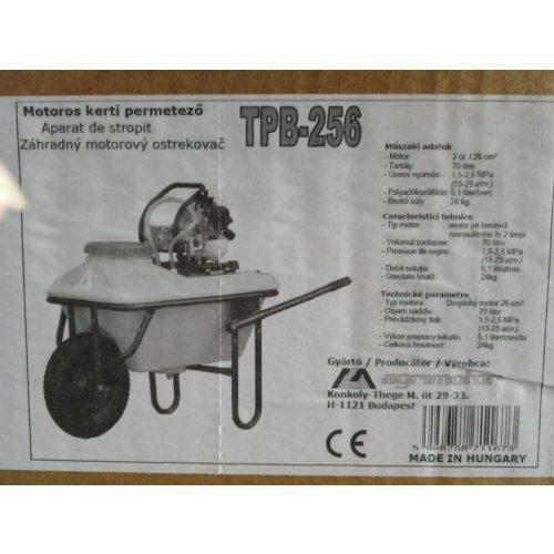 Permetező TPB 256 talicskás robbanó motoros